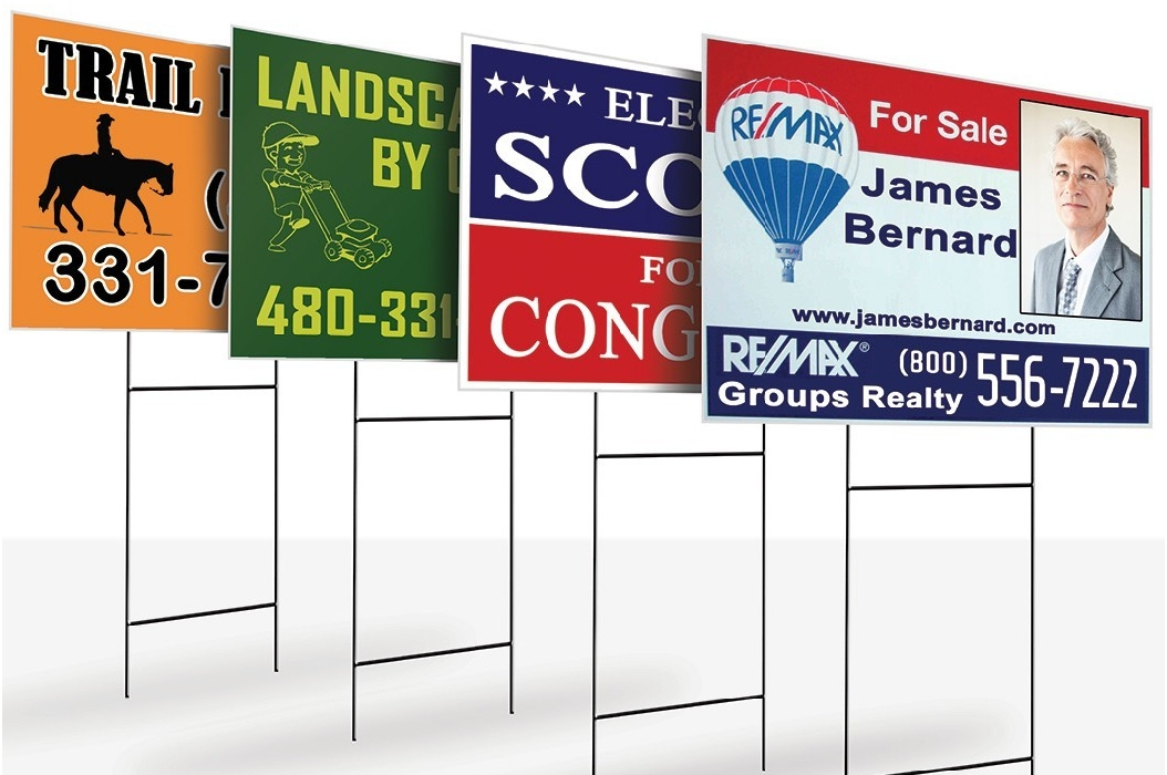 H-Frame Stakes for Coroplast Yard Signs - Swamp Signs